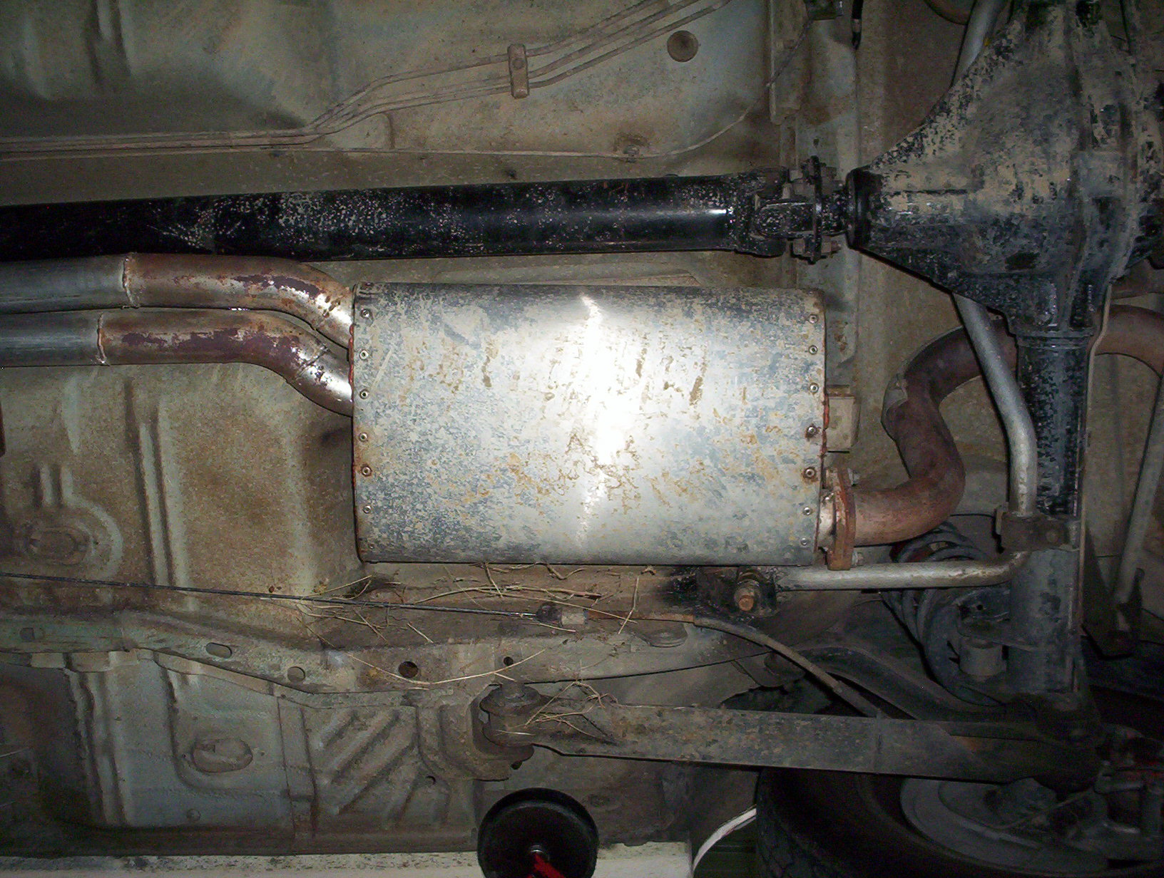 My homemade Exhaust on 88EA sedan. 007.jpg