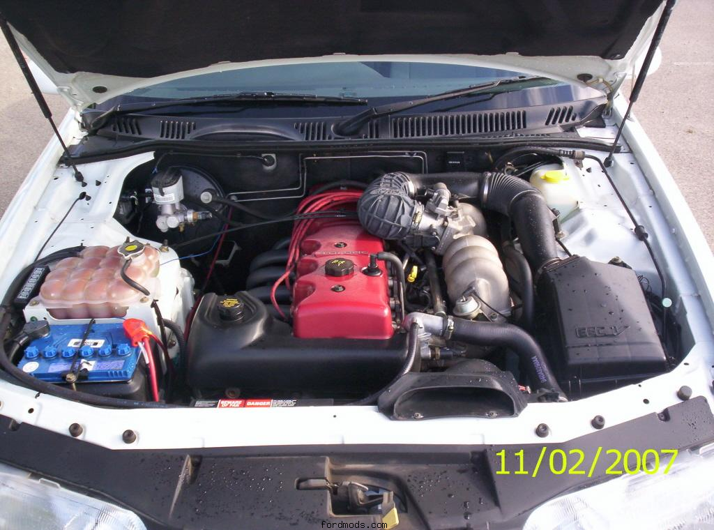 slightly newer XR6 donated the motor