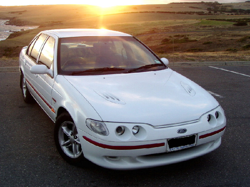 XR6 and Sunset