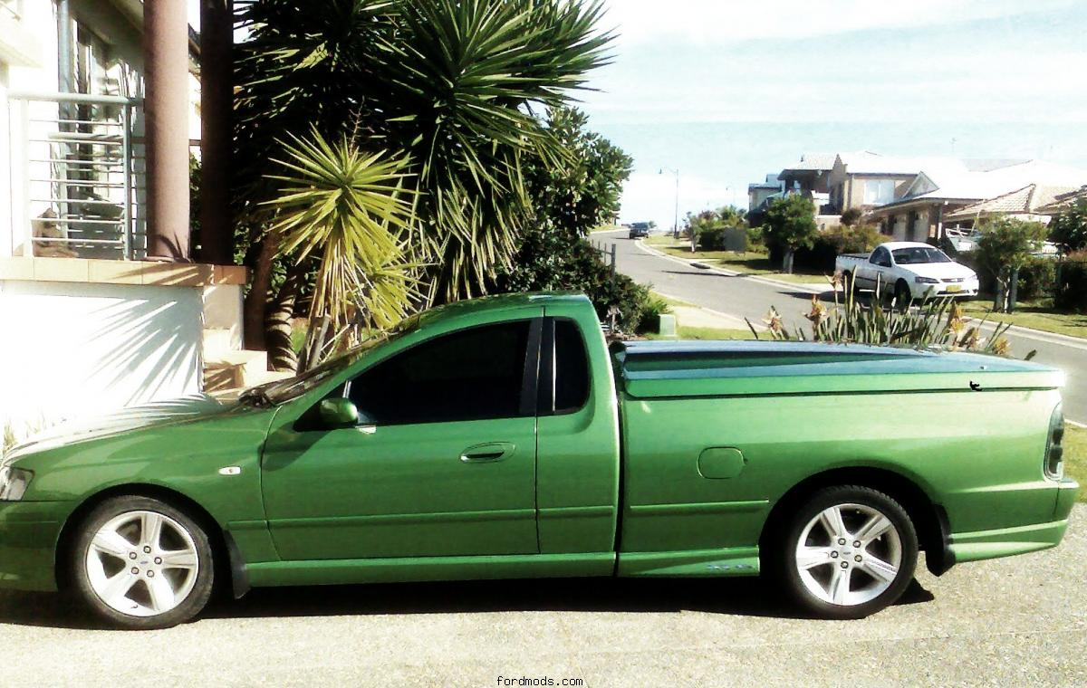 ford BA XR6 ute