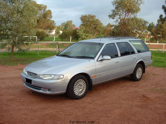 EF Fairmont wagon 2 weeks after purchase