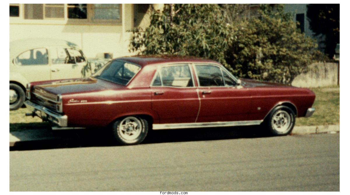 My First Fairlane 302W with Top-loader 4 speed