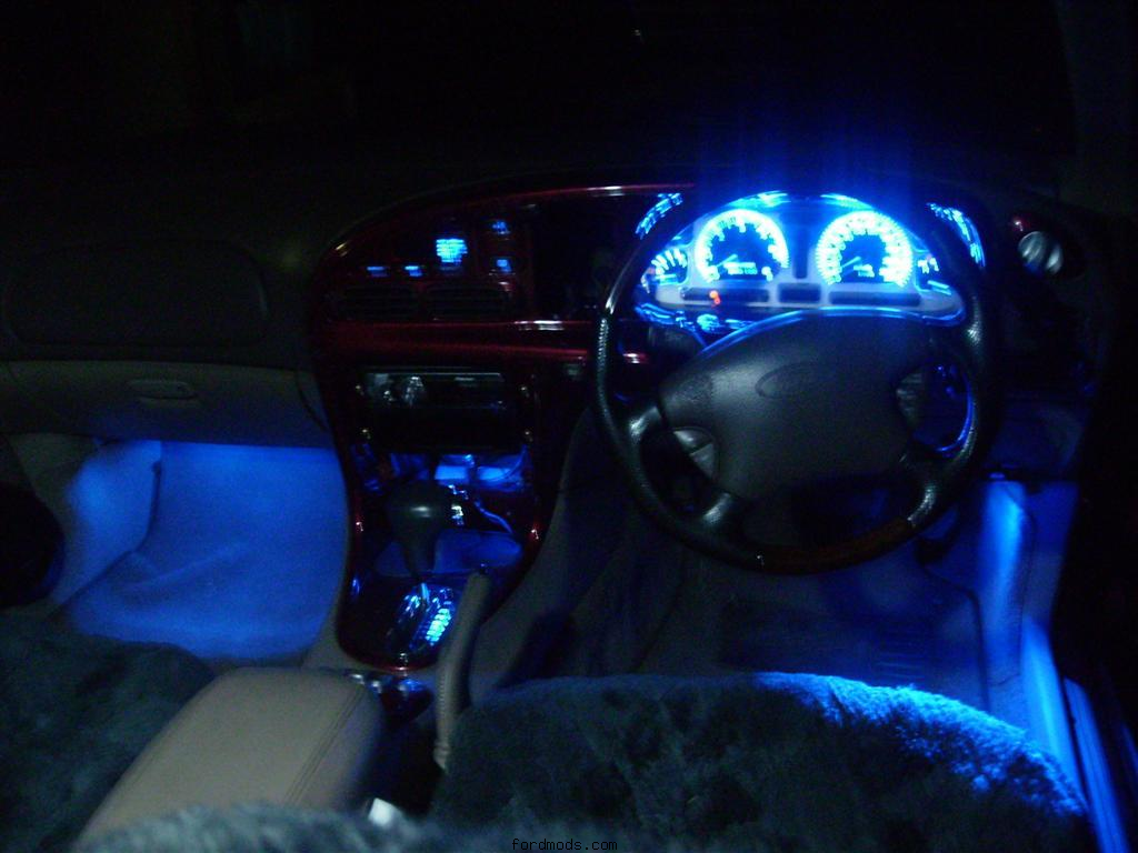 All new blue LED'S