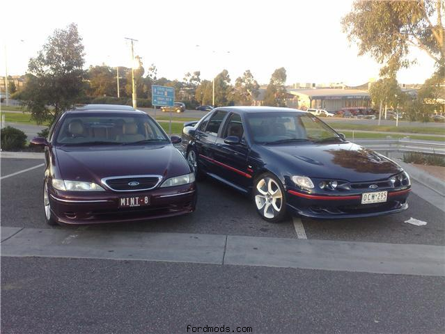 My EL Ghia and Daniel's EL XR6