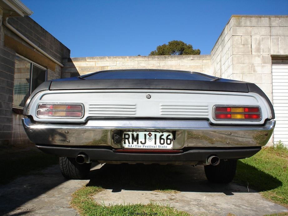 rear XB coupe