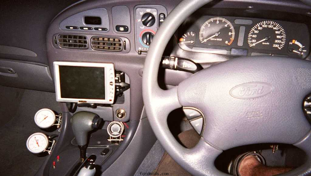 Screen and gauges