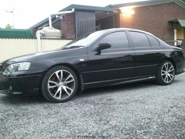 My XR6 Turbo. just ordered my custom plates