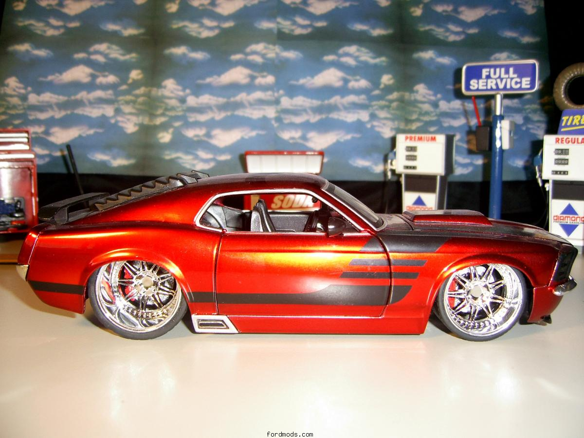 My mustang (diecast model) i wish it was lifesize lol