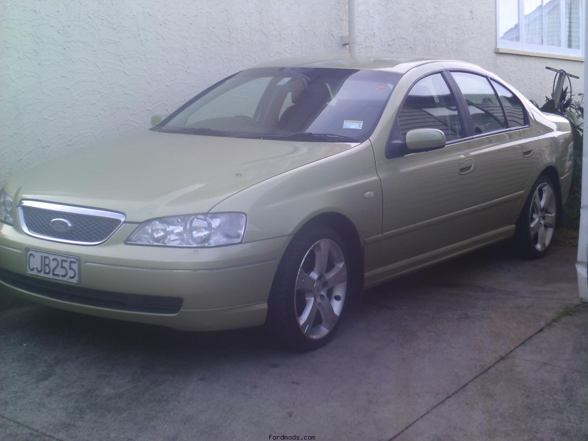 my fairmont with xr8 rims