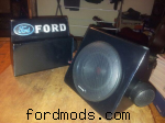 Speakers for xg,carbon fibre vynal.