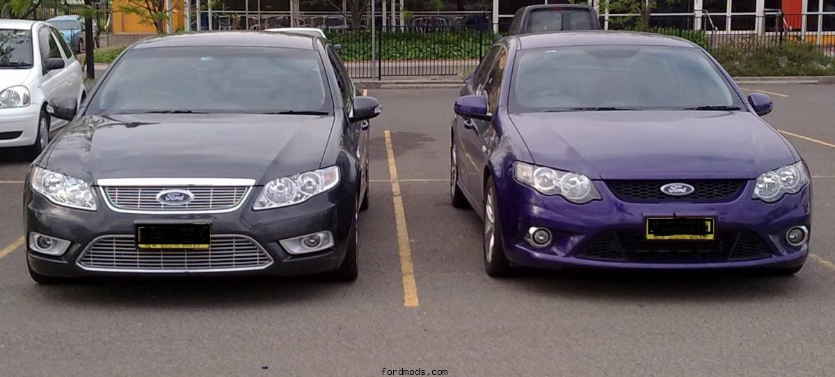 My G6E Turbo & the Mrs XR6