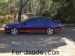 Picture of my BA XR6 turbo taken 09