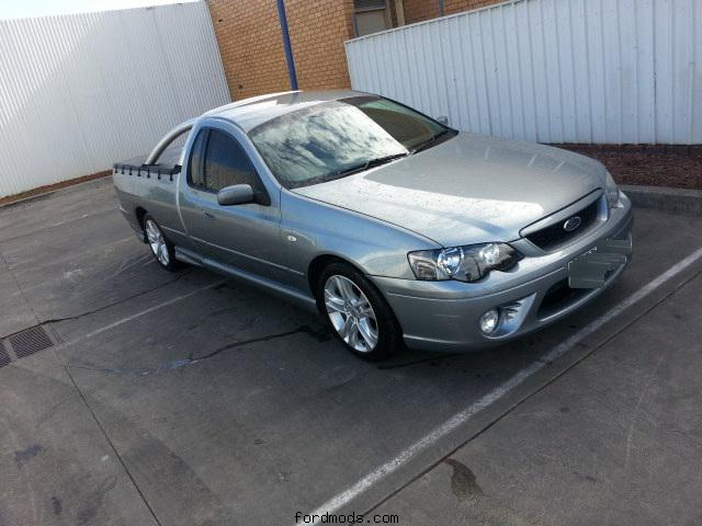 My New Ute XR6 02 / 2006 BF mk2  Low Miles 154786