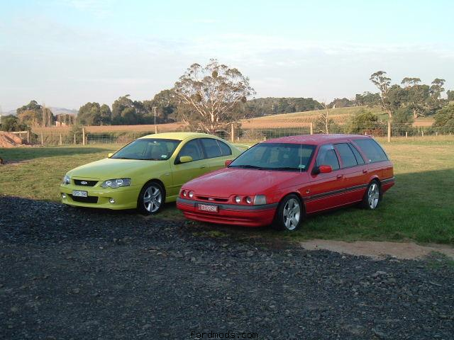 my two cars