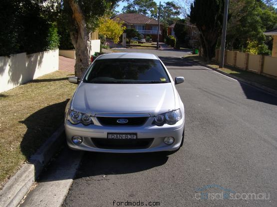 XR6 TURBO Front