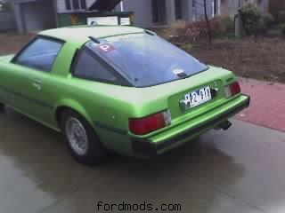 My green rx7, 12a, 5 speed