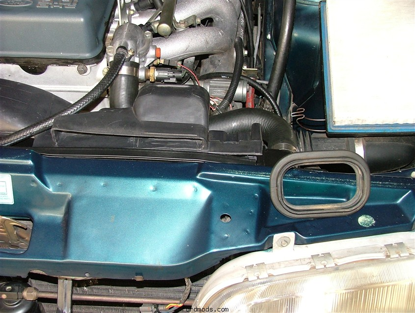 Intake and seal