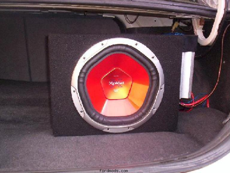 12inch Sony Sub with amp