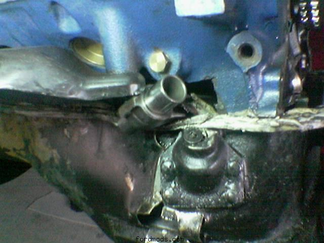 my first engine. (broke the crank shaft) OUCH