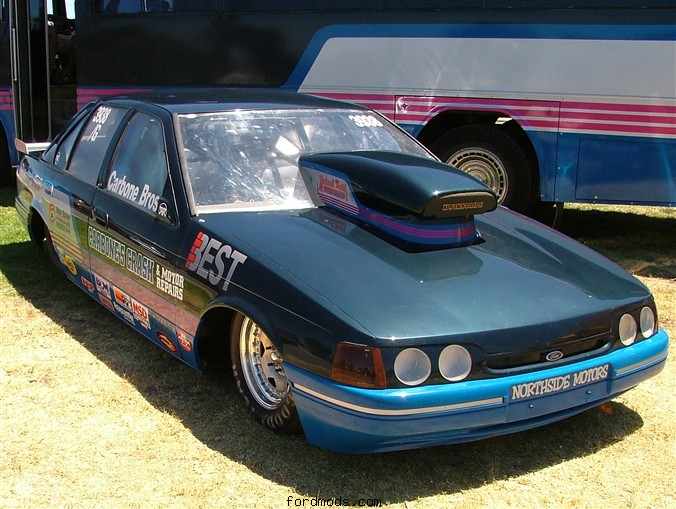 ED Drag Car 2