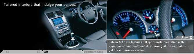 The New BA Falcon Instrument Cluster, as Fitted to the XR Models