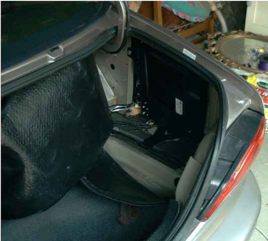The premium Sound System Boot Mounted Amplifier