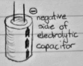 Connecting an Electolytic Capacitor to a circuit