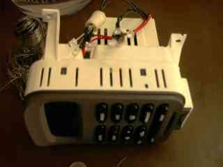 Ford EF Climate control module with LED's Soldered on to the Light Bulb Holders