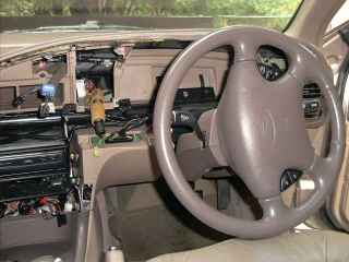 Figure 2.Ford EF Dash, with the shroud removed