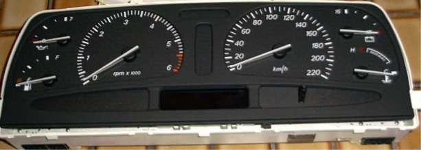The NF Fairlane Instrument Cluster