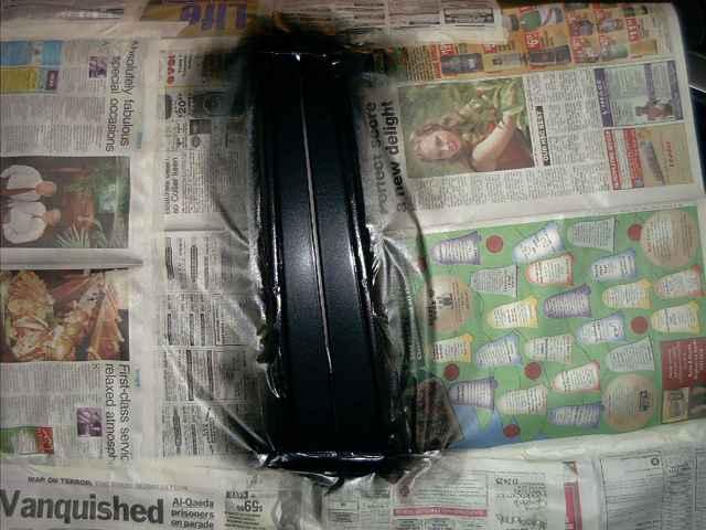 Applying the Ford Black Pearl Coat