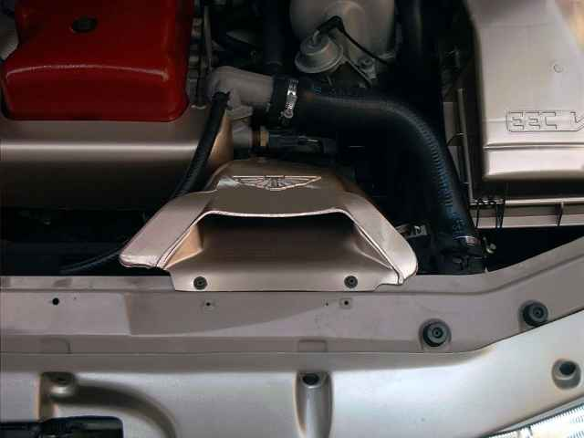 The AU2 XR8 Intake snorkel fitted to an EF Fairmont Ghia 6 Cylinder